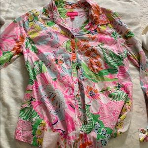 Lilly Pulitzer for target long sleeve button down